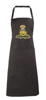 Royal Artillery Embroidered Apron